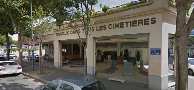 Cimetière-témoin (Google Street View)
