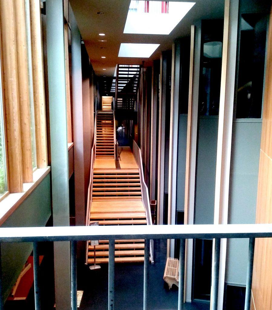 marché de la poésie 2 escalier école