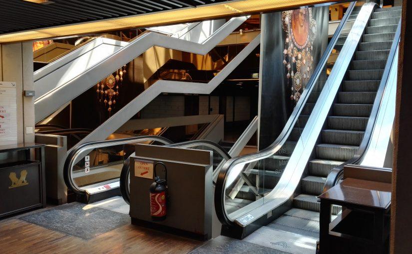 L'escalieteuse